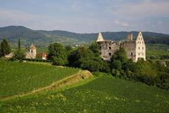 Vogtsburg i. Kaiserstuhl - Schloss von V.-Burkheim