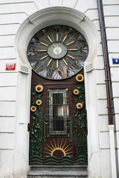 Tür Jugendstil